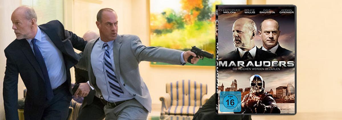 Marauders: Willis: Nicht mehr gut genug fürs Kino?