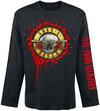 Guns N' Roses Bloody Bullet powered by EMP (Langarmshirt)