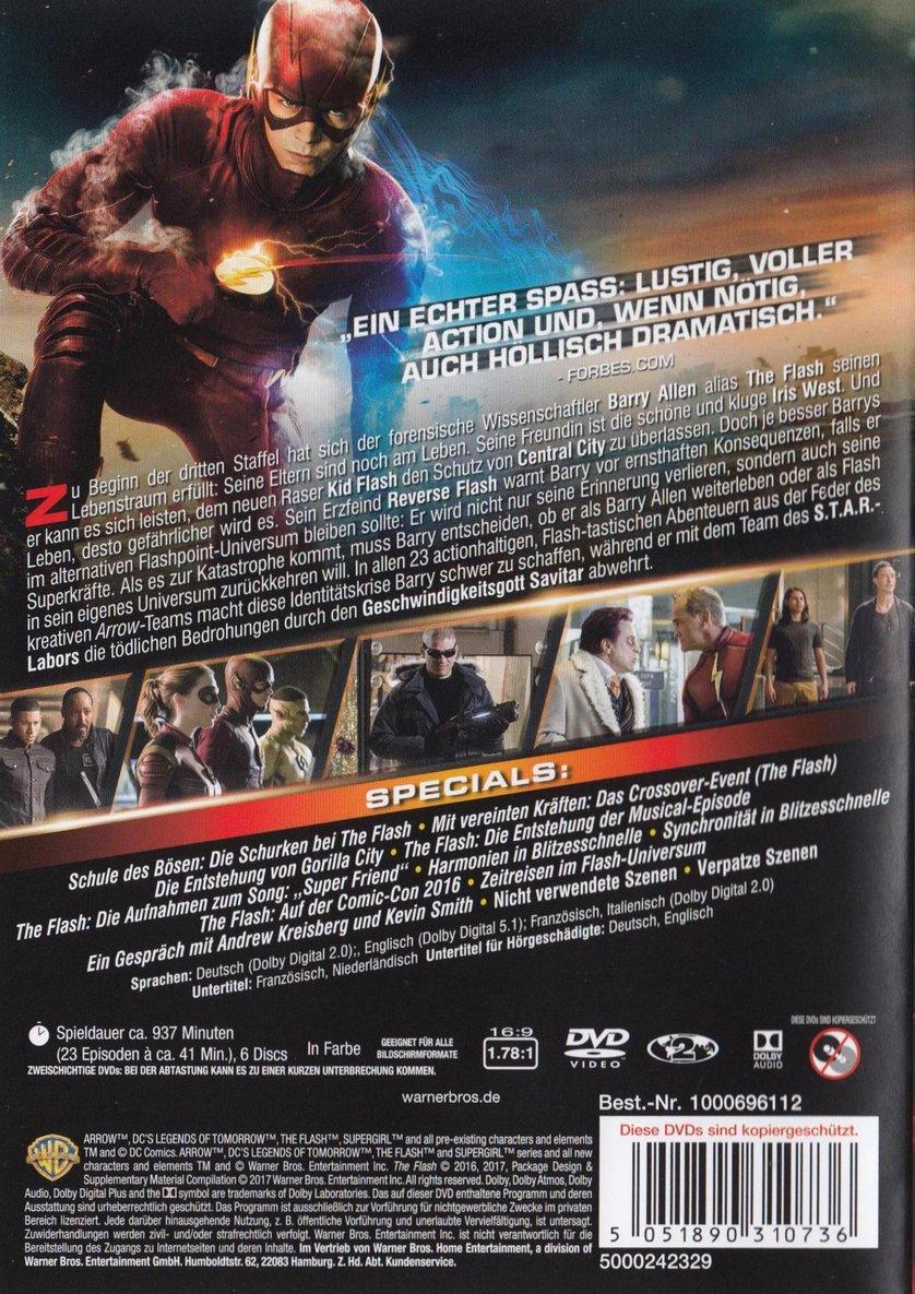 The Flash Staffel 3 Dvd Oder Blu Ray Leihen Videobusterde