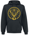 Jägermeister Logo gold powered by EMP (Kapuzenpullover)