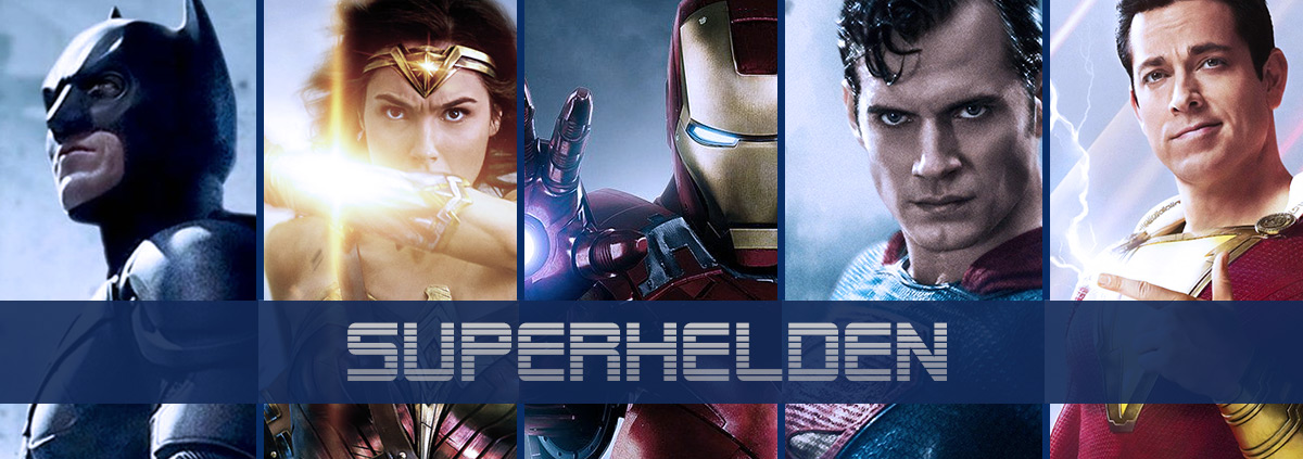 Superhelden bei Videobuster: Superhelden im Video on Demand