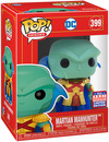 DC Comics SDCC 2021 - Martian Manhunter Vinyl Figur 399 powered by EMP (Funko Pop!)