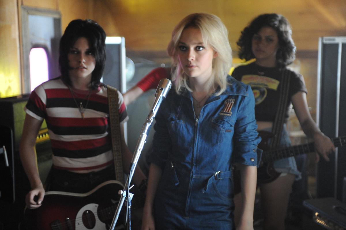Kristen Stewart und Dakota Fanning 'The Runaways' © Capelight Pictures 2010