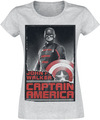The Falcon And The Winter Soldier Captain America powered by EMP (T-Shirt)