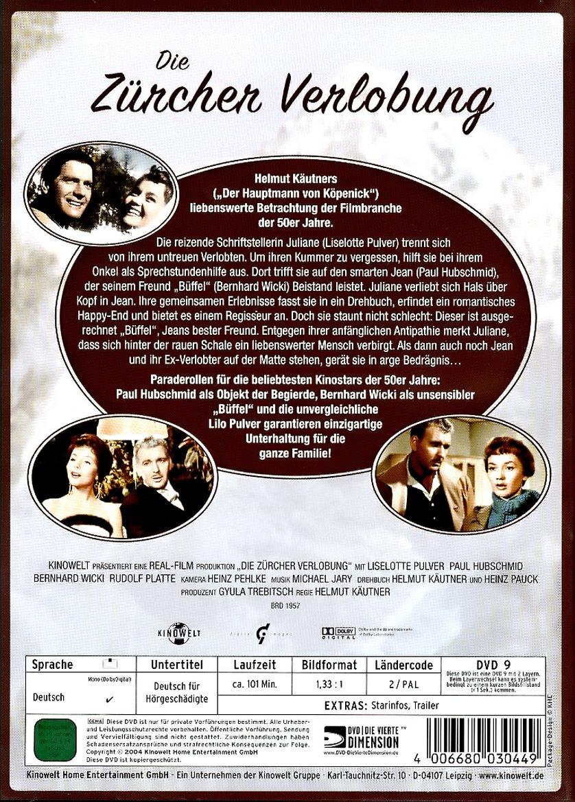 Die Zürcher Verlobung Dvd Oder Blu Ray Leihen Videobusterde