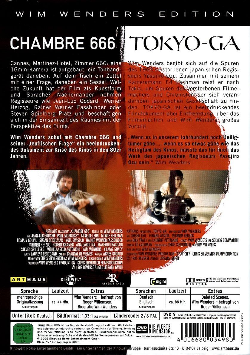 tokyo ga chambre 666 dvd oder blu ray leihen