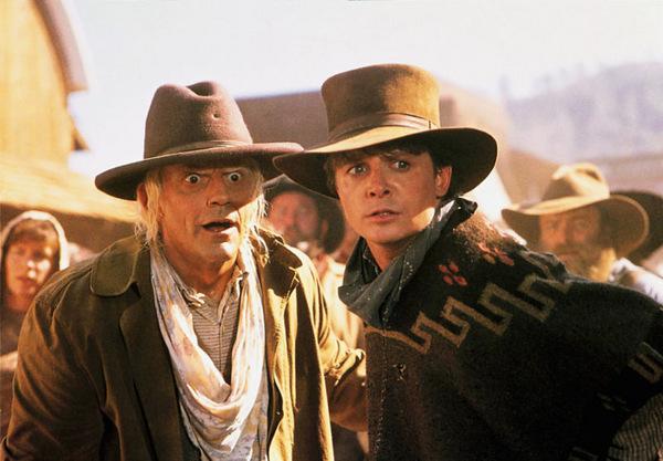 Michael J. Fox in 'Zurück in die Zukunft 3' 1990 © Universal