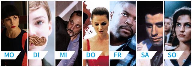 Deine Filmwoche: 7 Tage 7 Filme - Eine ganze Woche im Heimkino!