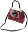 Banned Retro Femme Fatale Handbag Handtasche rot schwarz powered by EMP (Handtasche)