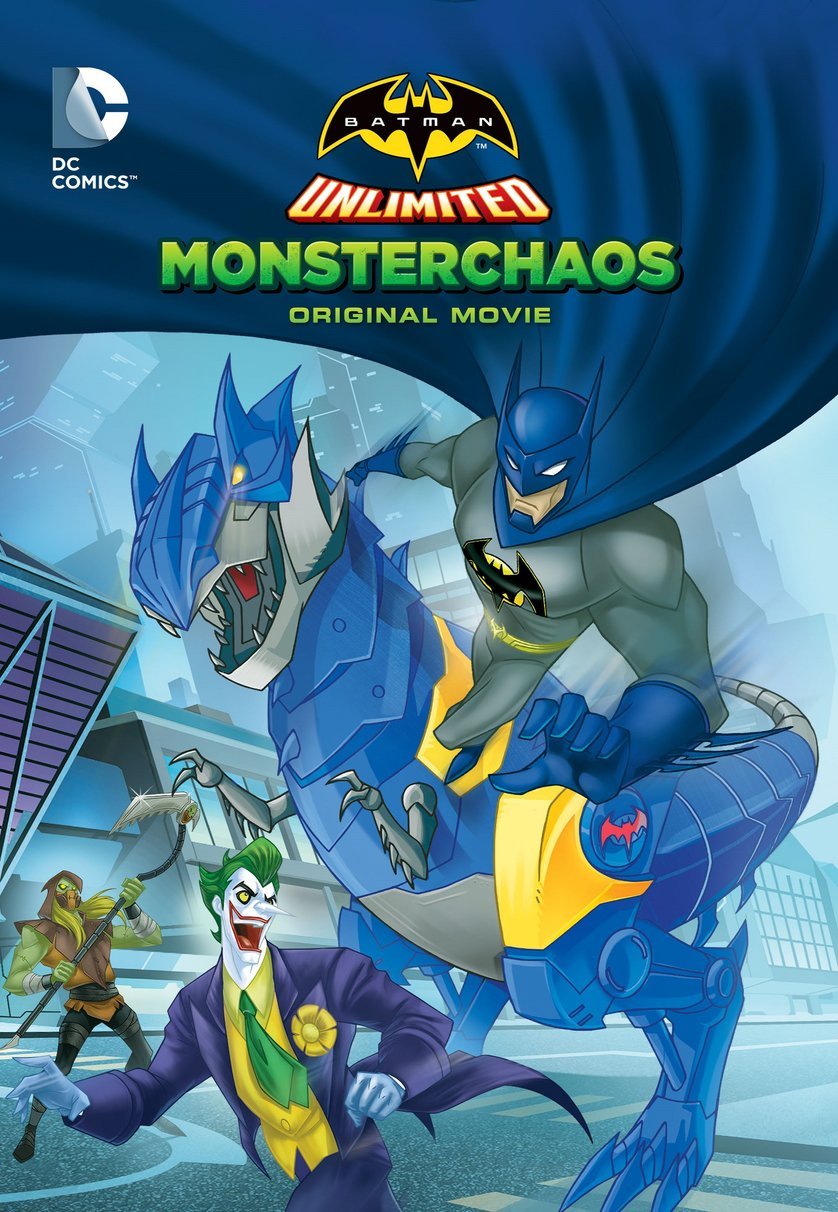Batman Unlimited Monster Chaos