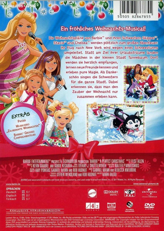 Barbie Zauberhafte Weihnachten Dvd Oder Blu Ray Leihen