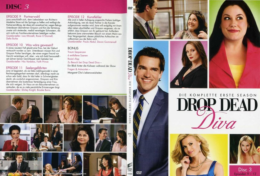 Drop dead diva staffel 1 dvd oder blu ray leihen - Drop dead diva ita streaming ...
