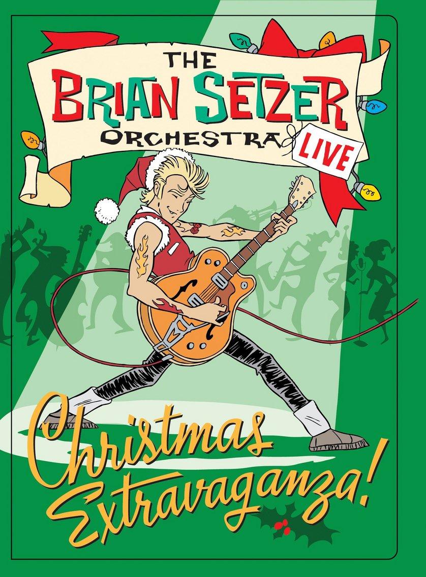 The Brian Setzer Orchestra   Christmas Extravaganza DVD oder Blu ...