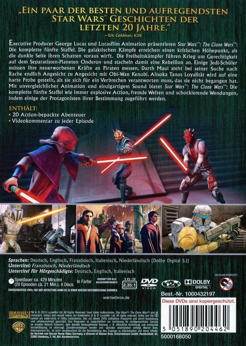 star wars the clone wars staffel 5 stream