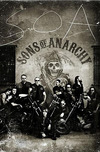 Sons Of Anarchy Vintage Poster schwarz weiß powered by EMP