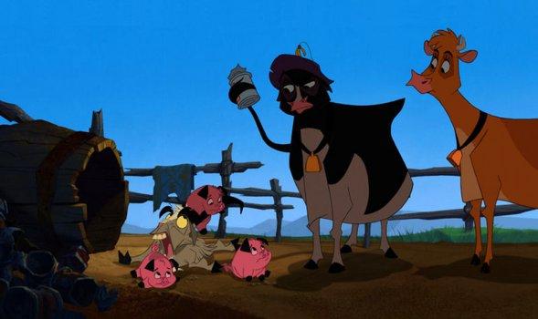 Die Kühe sind los
