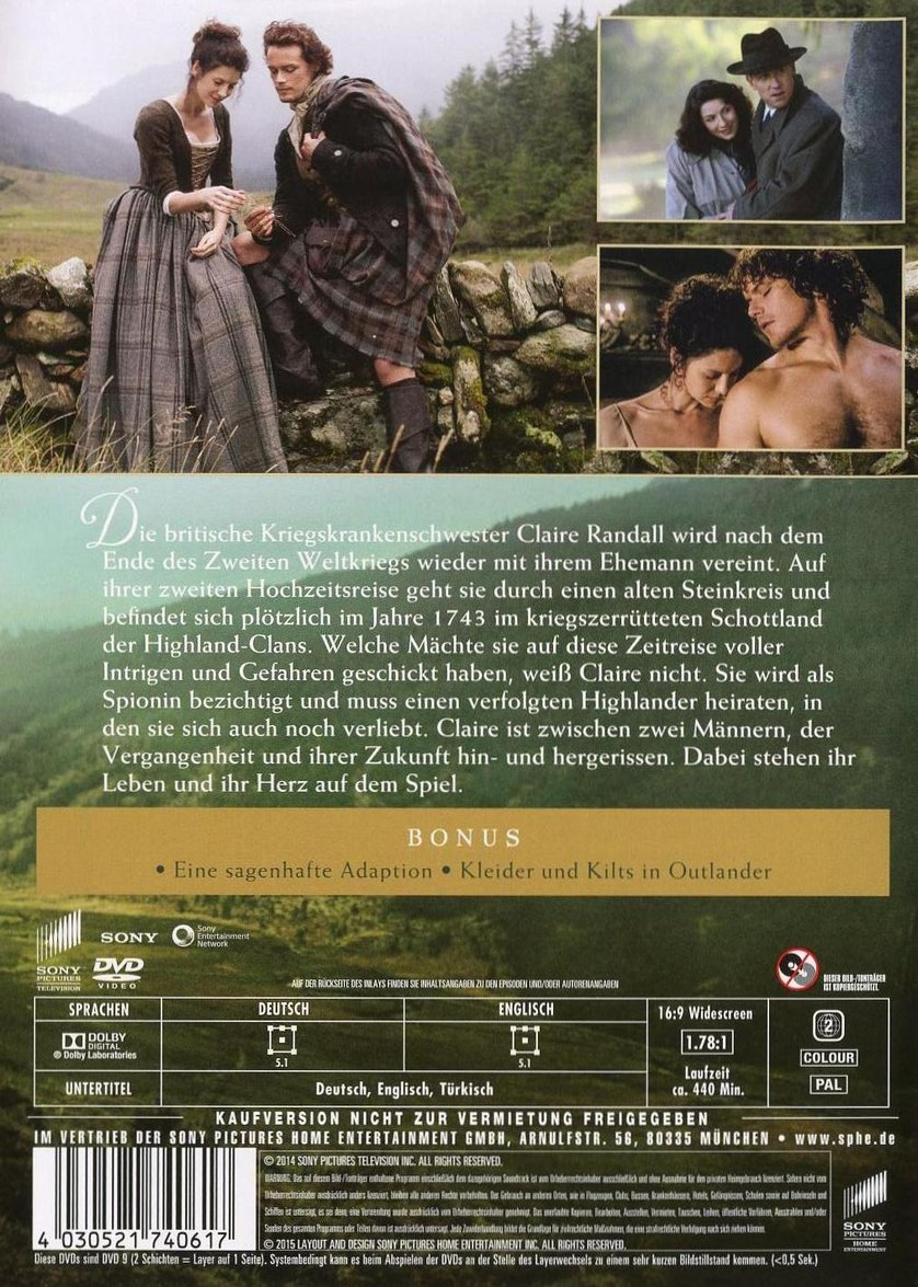 Outlander Staffel 2 Dvd Deutsch
