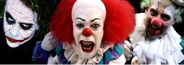 Clown-Collection: Böse Clowns: Wer zuletzt lacht - hat überlebt!