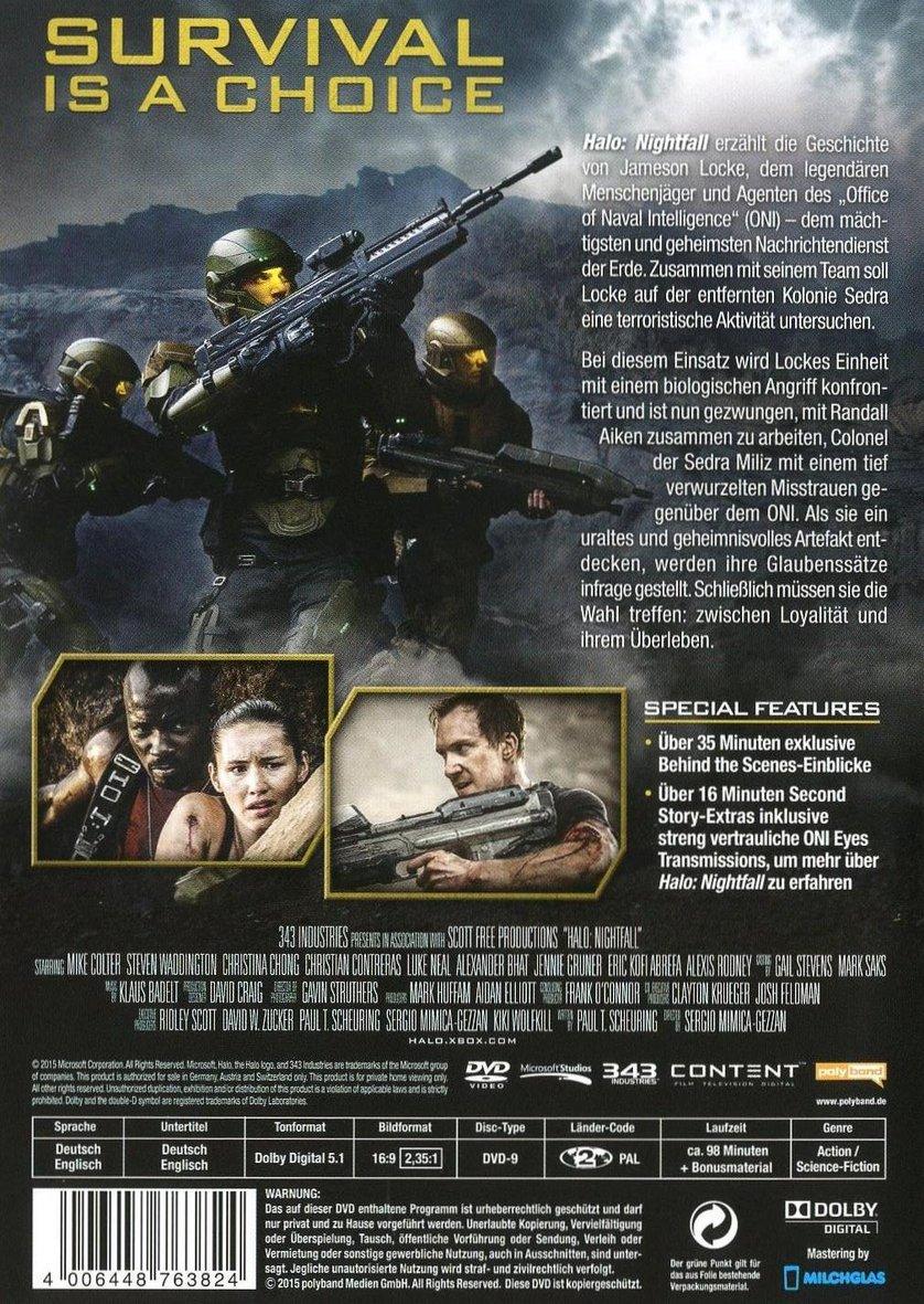 Halo Nightfall Stream German