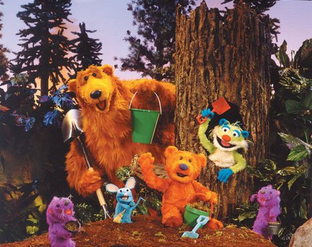 Der Bär im großen blauen Haus