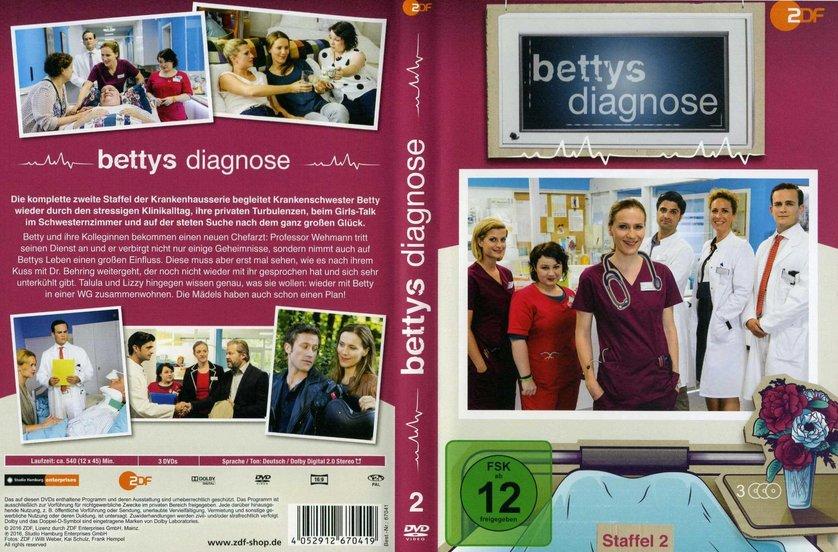 Bettys diagnose staffel 2 dvd oder blu ray leihen for Bettys diagnose