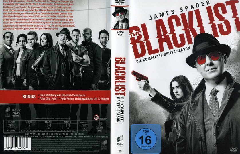 the blacklist staffel 3 dvd oder leihen
