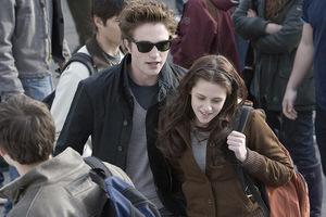Pattinson und Kristen Stewart in 'Twilight' © Concorde 2008