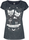 Outer Vision Stay Spooky T-Shirt schwarz grün powered by EMP (T-Shirt)