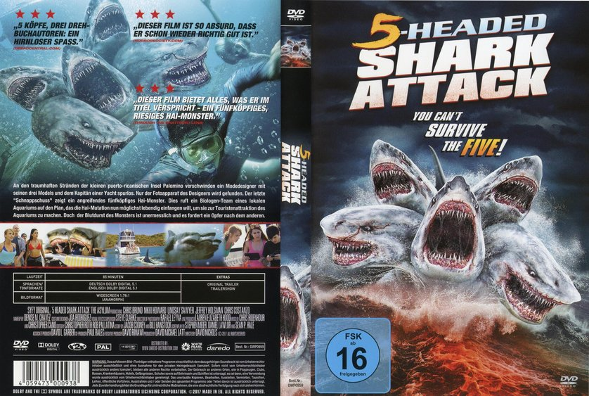 5 Headed Shark Dvd Oder Blu Ray Leihenbuster De Rhbuster De 5 Headed Shark Dvd Amazon