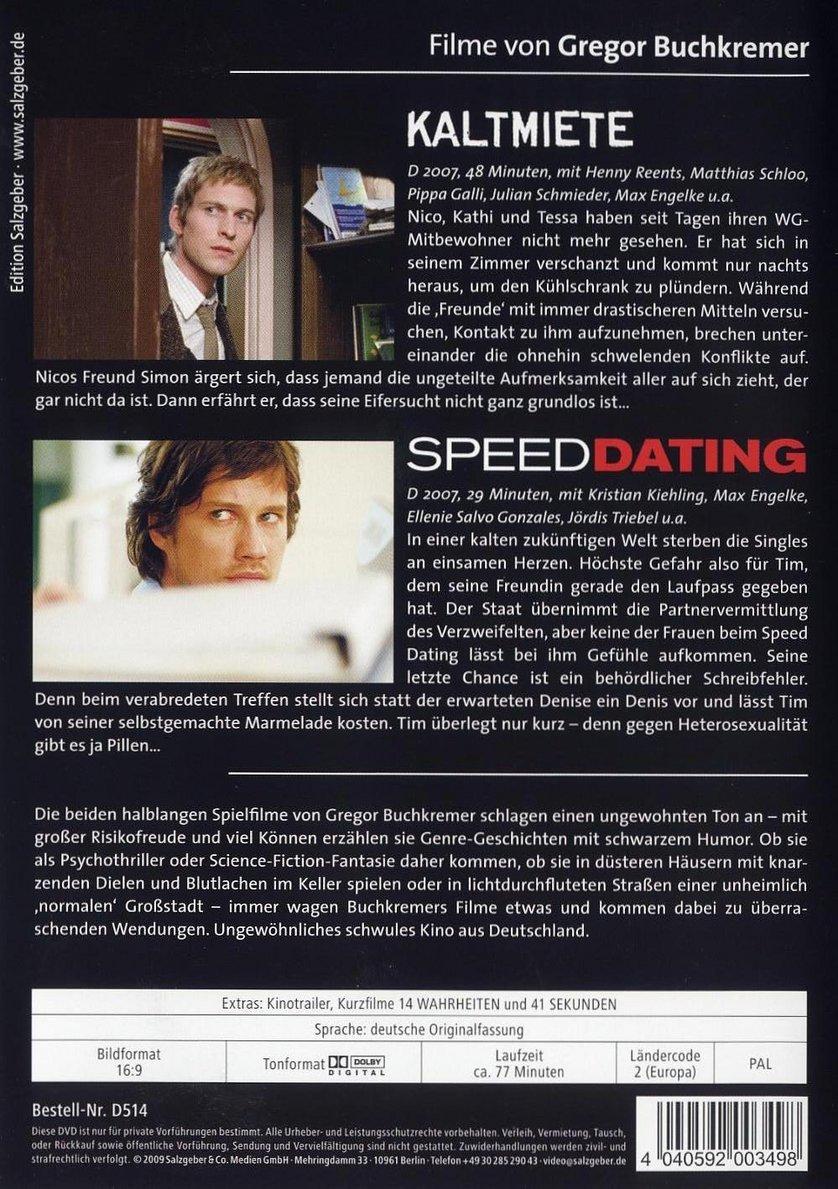 Spiel speed dating deutsch