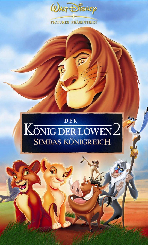 der könig der löwen 2 dvd oder bluray leihen