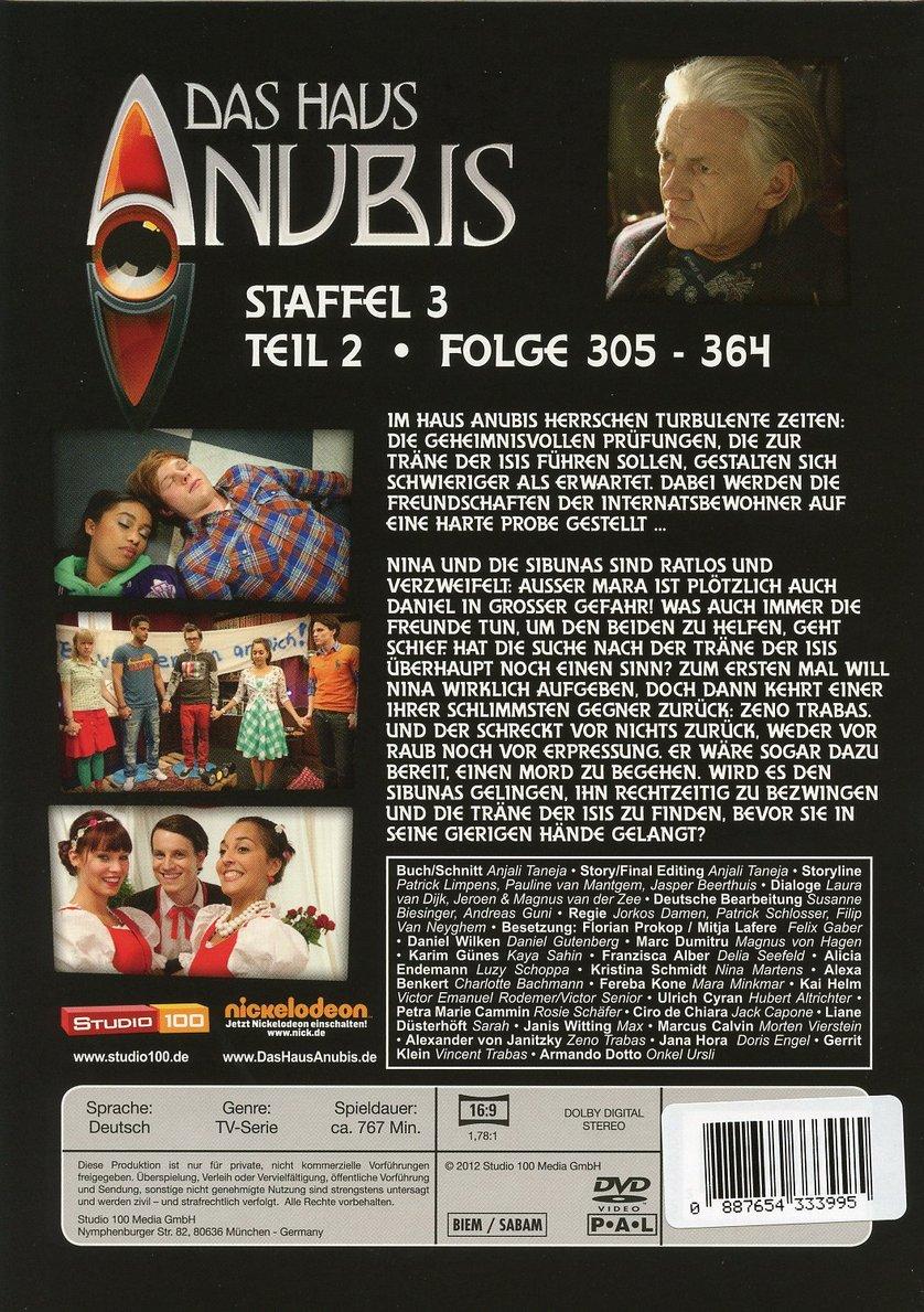 Das Haus Anubis Staffel 3 Dvd Oder Blu Ray Leihen