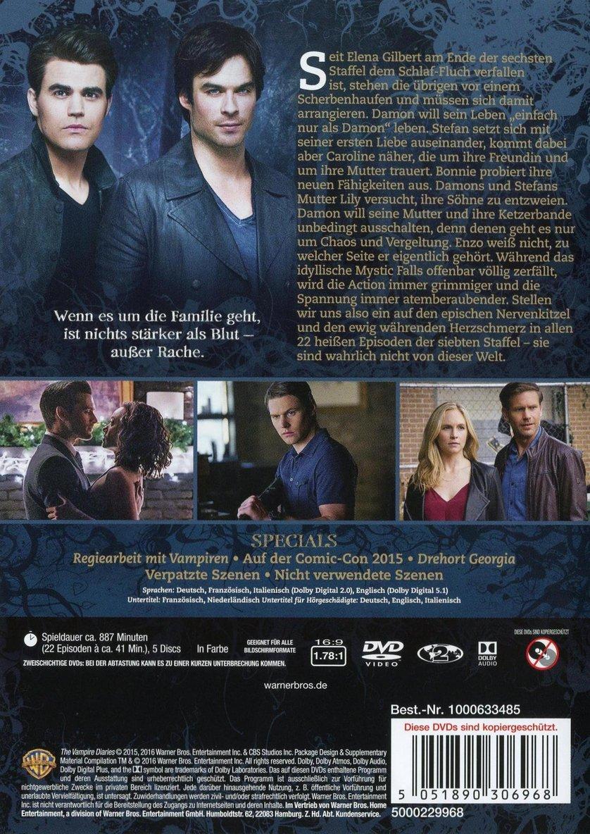 Vampire Diaries Staffel 7 Dvd
