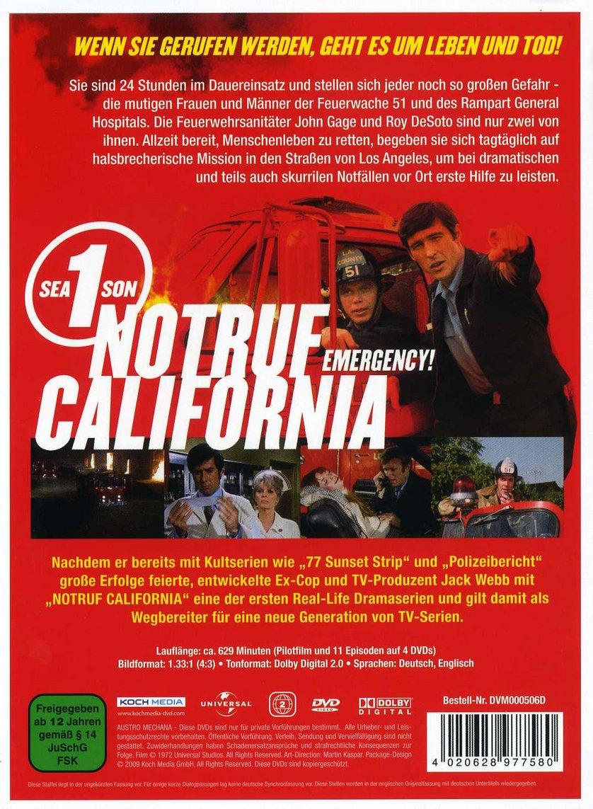 Notruf California Stream