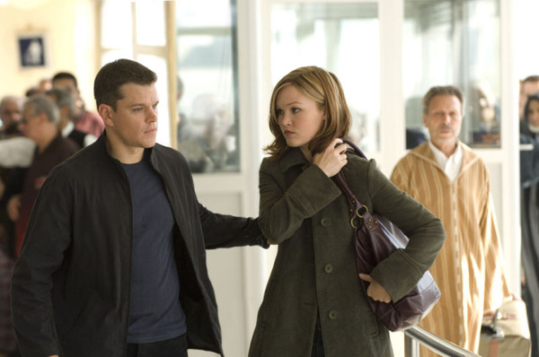 Matt Damon und Julia Stiles