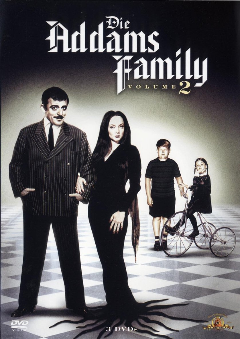 die addams family staffel 2 dvd oder blu ray leihen. Black Bedroom Furniture Sets. Home Design Ideas