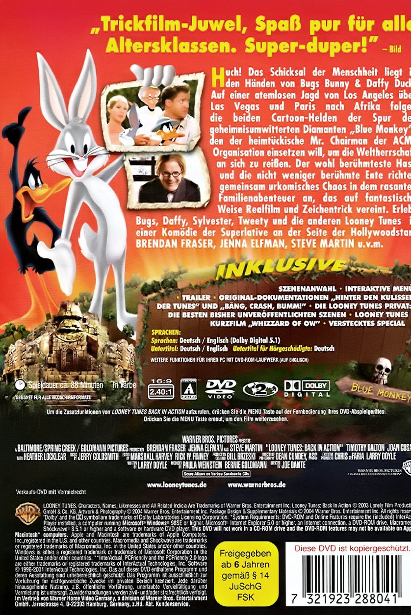 Looney Tunes - Back in Action: DVD, Blu-ray oder VoD leihen ...