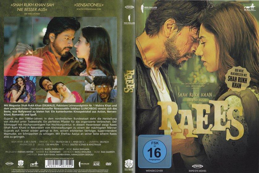 Raees Trailer Deutsch