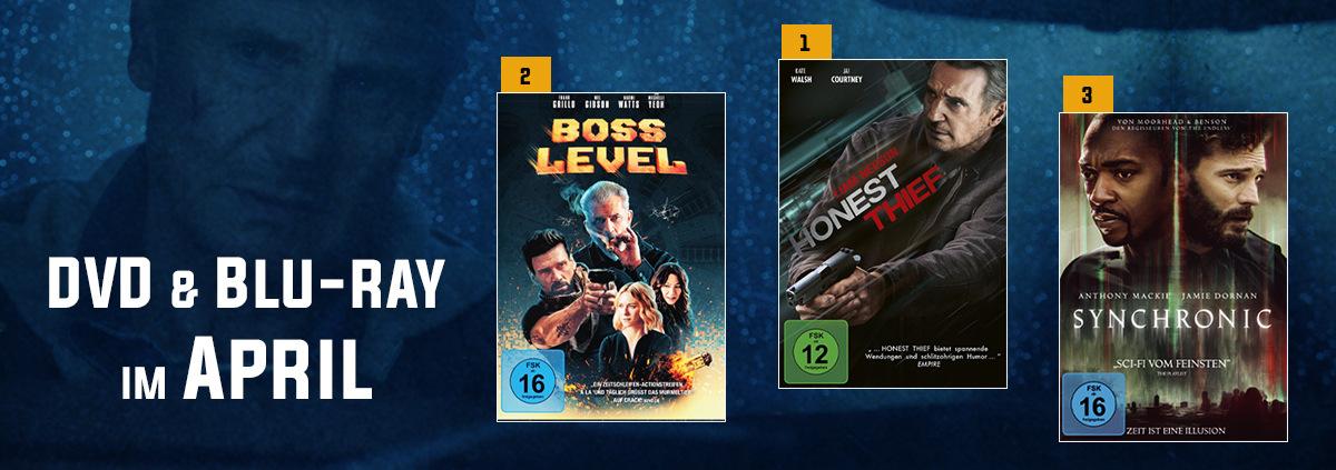 DVD & Blu-ray Charts 04-2021: April Charts: Neuer Spitzenreiter, Neueinsteiger & mehr
