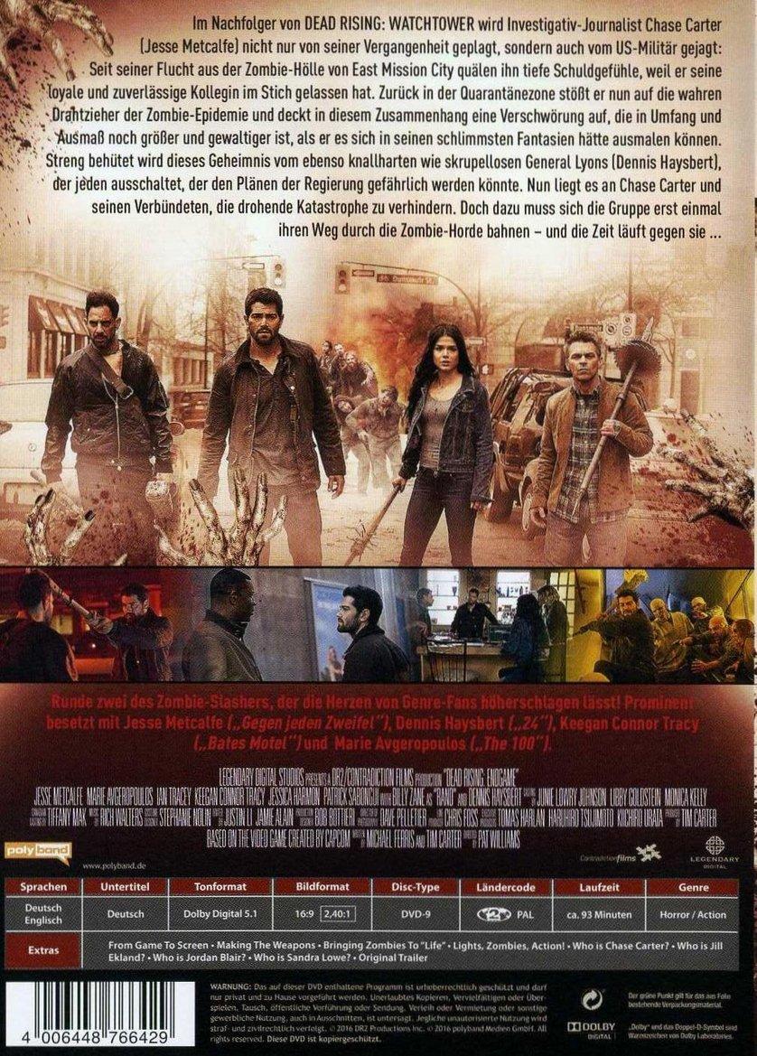 Dead Rising Endgame Dvd Oder Blu Ray Leihen Videobuster De