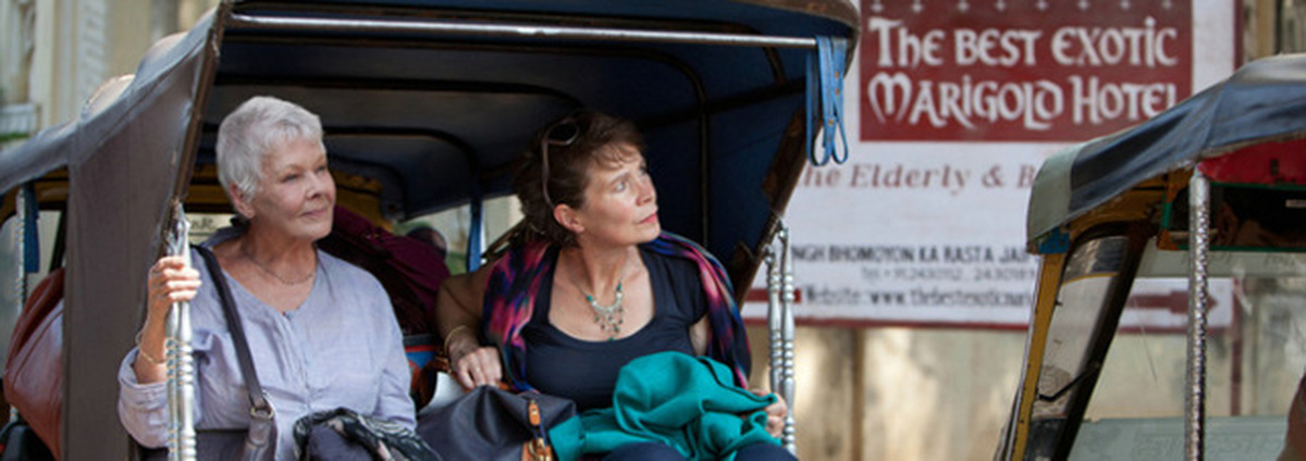 Best Exotic Marigold Hotel: Gere checkt  in das 'Best Exotic Marigold Hotel' ein