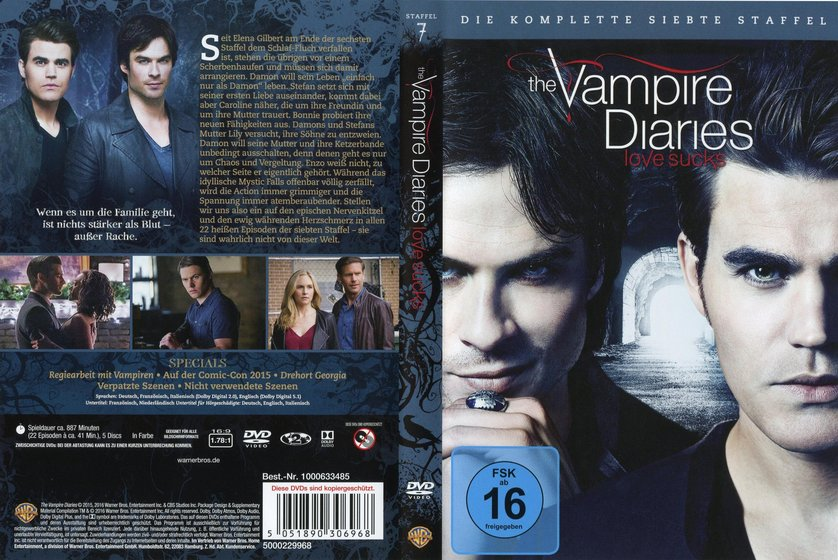 vampire diaries staffel 7 dvd kaufen