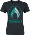 Aquaman Distressed Shield powered by EMP (T-Shirt)
