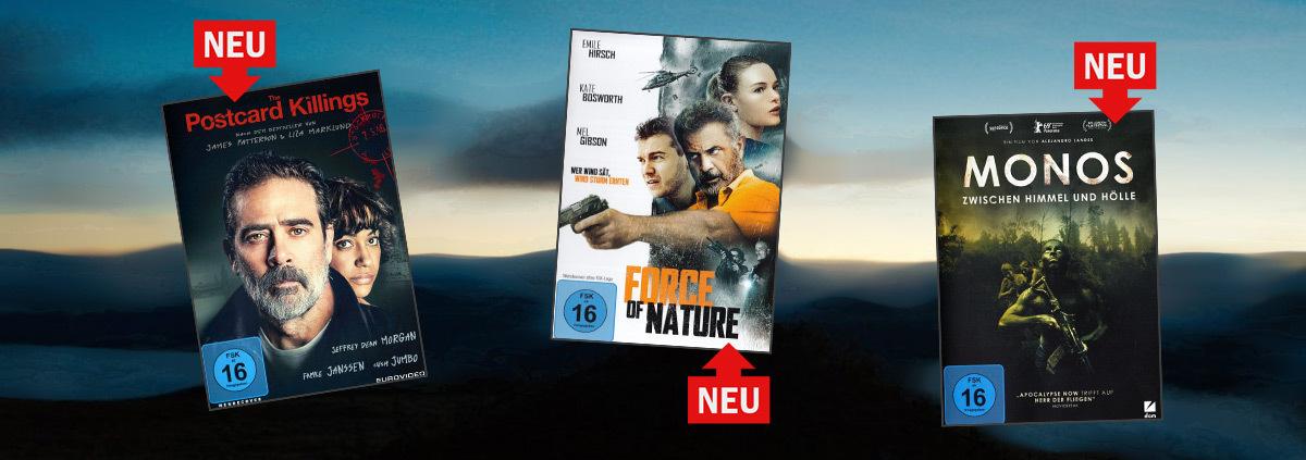 Neuheiten auf Blu-ray und DVD: Diese Filme sind brandneu bei VIDEOBUSTER!