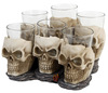 Nemesis Now Six Shooter Skulls powered by EMP (Schnapsglas-Set)