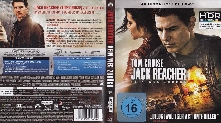 Jack Ray Reacher Leihen 2Dvd Oder Blu OZTwPiukX