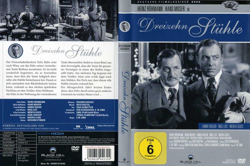 Dreizehn Stühle Dvd Oder Blu Ray Leihen Videobusterde
