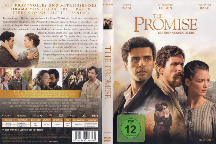 the promise kinostart