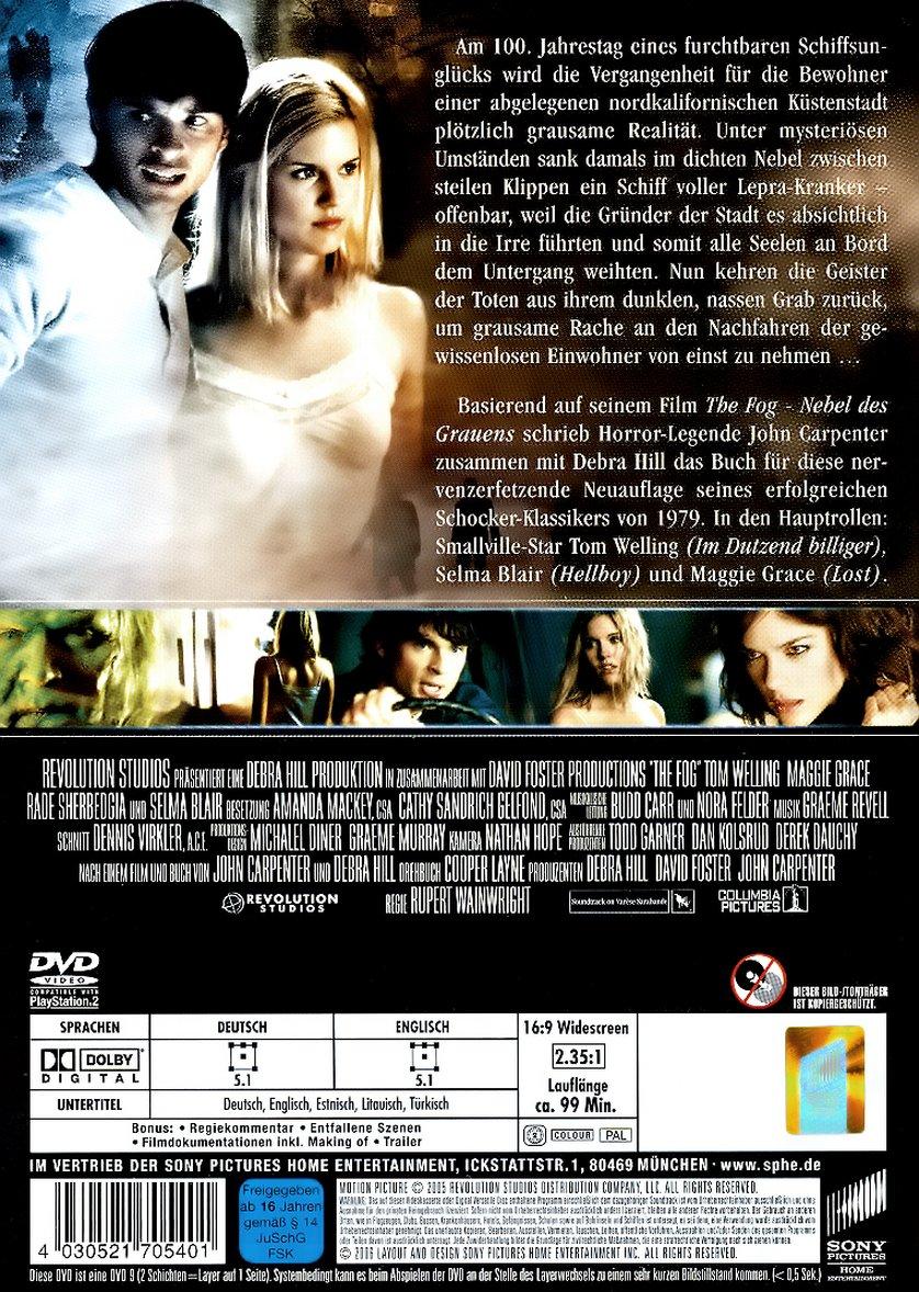 The Fog  Nebel des Grauens DVD oder Bluray leihen