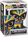 Wolverine El Animal Indestructible - Marvel Luchadores - Vinyl Figur 711 powered by EMP (Funko Pop!)
